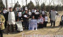 Beijing Police Stop Appellants' Press Conference